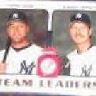 2006 Fleer Team Leaders Jeter/Johnson #TL-18 Yankees