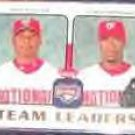 2006 Fleer Team Leaders Guillen/Hernandez #TL-29