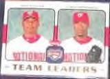 2006 Fleer Team Leaders Guillen/Hernandez #TL-29