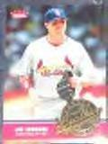 2006 Fleer Smooth Leather Jim Edmonds #SL-9 Cardinals
