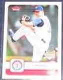 2006 Fleer Rookie Scott Feldman #292 Rangers