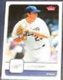 2006 Fleer Derek Lowe #139 Dodgers