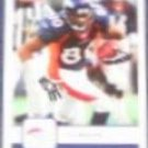 2006 Fleer Rod Smith #31 Broncos