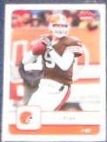 2006 Fleer Charlie Frye #22 Browns