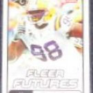 2006 Fleer Futures Rookie Claude Wroten #121 Rams