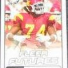 2006 Fleer Futures Rookie Winston Justice #200 Eagles