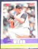 2006 Fleer Tradition Brandon Webb #10 Diamondbacks
