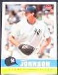 2006 Fleer Tradition Randy Johnson #198 Yankees