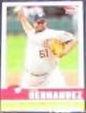 2006 Fleer Tradition Livan Hernandez #110 Nationals