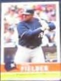 2006 Fleer Trad. Rookie Prince Fielder #40 Brewers