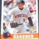 2006 Fleer Trad. Rookie Dave Gassner #184 Twins