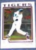 2004 Topps Chrome Dmitri Young #129 Tigers