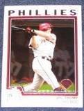 2004 Topps Chrome Jim Thome #1 Phillies