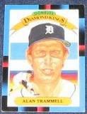 1988 Donruss Diamond Kings Alan Trammell #4 Tigers