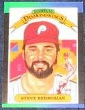 1989 Donruss Diamond Kings Steve Bedrosian #24 Phillies