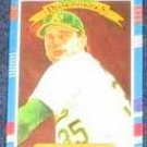 1991 Donruss Diamond Kings Bob Welch #20 Athletics