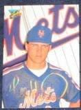 1992 Studio Todd Hundley #206 Mets