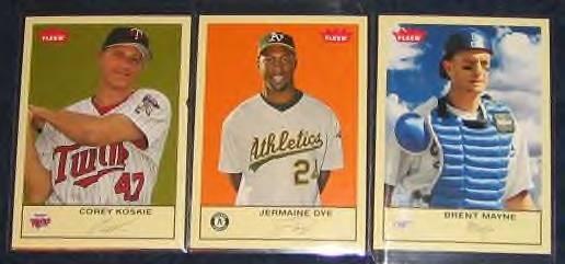 2005 Fleer Tradition Brent Mayne #71 Dodgers