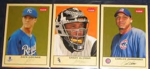 2005 Fleer Tradition Zack Greinke #33 Royals