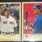 2005 Fleer Tradition Manny Ramirez #49 Red Sox