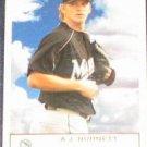 2005 Fleer Tradition A.J. Burnett #77 Devil Rays