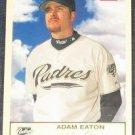 2005 Fleer Tradition Adam Eaton #43 Padres