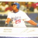 2005 Fleer Tradition Adrian Beltre #255 Dodgers