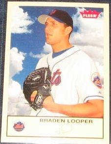 2005 Fleer Tradition Braden Looper #41 Mets