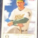 2005 Fleer Tradition Erubiel Durazo #164 Athletics