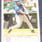 2005 Fleer Tradition Eric Young #81 Rangers