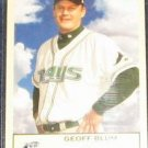 2005 Fleer Tradition Geoff Blum #226 Devil Rays