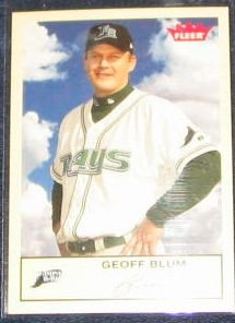2005 Fleer Tradition Geoff Blum #226 Devil Rays