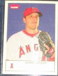 2005 Fleer Tradition John Lackey #114 Angels