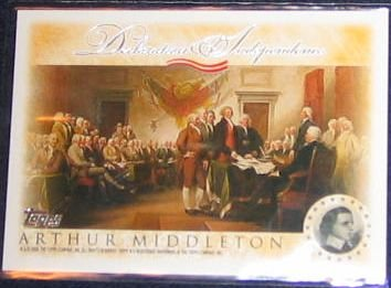 2006 Topps Declaration of Independence Middleton