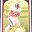 01 Fleer Tradition Grass Roots Jamal Lewis #7 Ravens