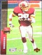 1994 UD Electric Silver Brad Edwards #148 Redskins