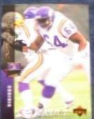 1994 UD Electric Silver Randall McDaniel #197 Vikings