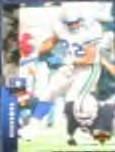 1994 UD Jon Vaughn #176 Seahawks
