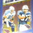2000 Topps Chrome Highlights Wycheck/Dyson #200 Titans