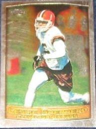 1999 Topps Chrome Leslie Shepherd #98 Browns