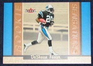 2002 Rookie Sensations DeShaun Foster #7 #'d 192/1250