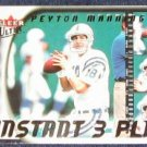 2000 Ultra Instant 3 Play Peyton Manning #1 of 15IP