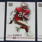 2001 Pacific Dynagon Charlie Garner #83 49ers