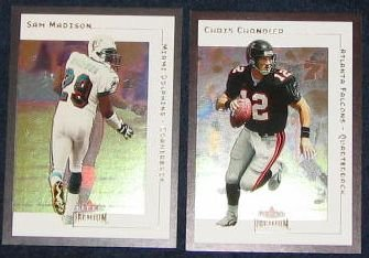 2001 Fleer Premium Chris Chandler #114