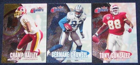 2000 Fleer Gamers Germane Crowell #95