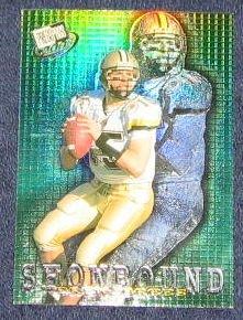 2001 Presspass Showbound Drew Brees #SB1/12