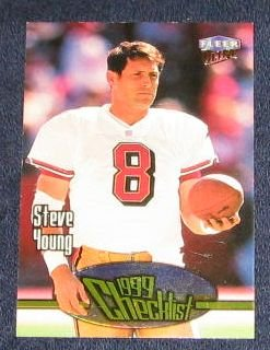 1999 Fleer Ultra Checklist Steve Young #250