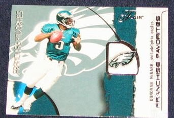 2002 Flair Franchise Favorites Donovan McNabb #1