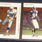 2001 Fleer Tradition Peyton Manning #84