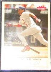 2005 Fleer Tradition Tony Womack #93 Cardinals